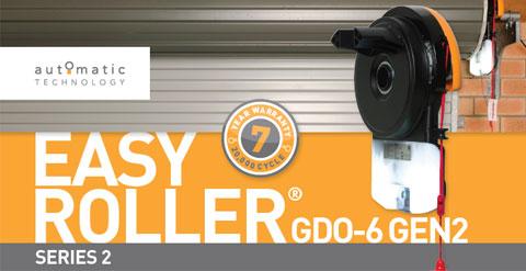 Rolling Door Openers · GDO 6 EASYROLLER® GEN2 SERIES 2